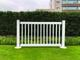 6 ft wide white fencing