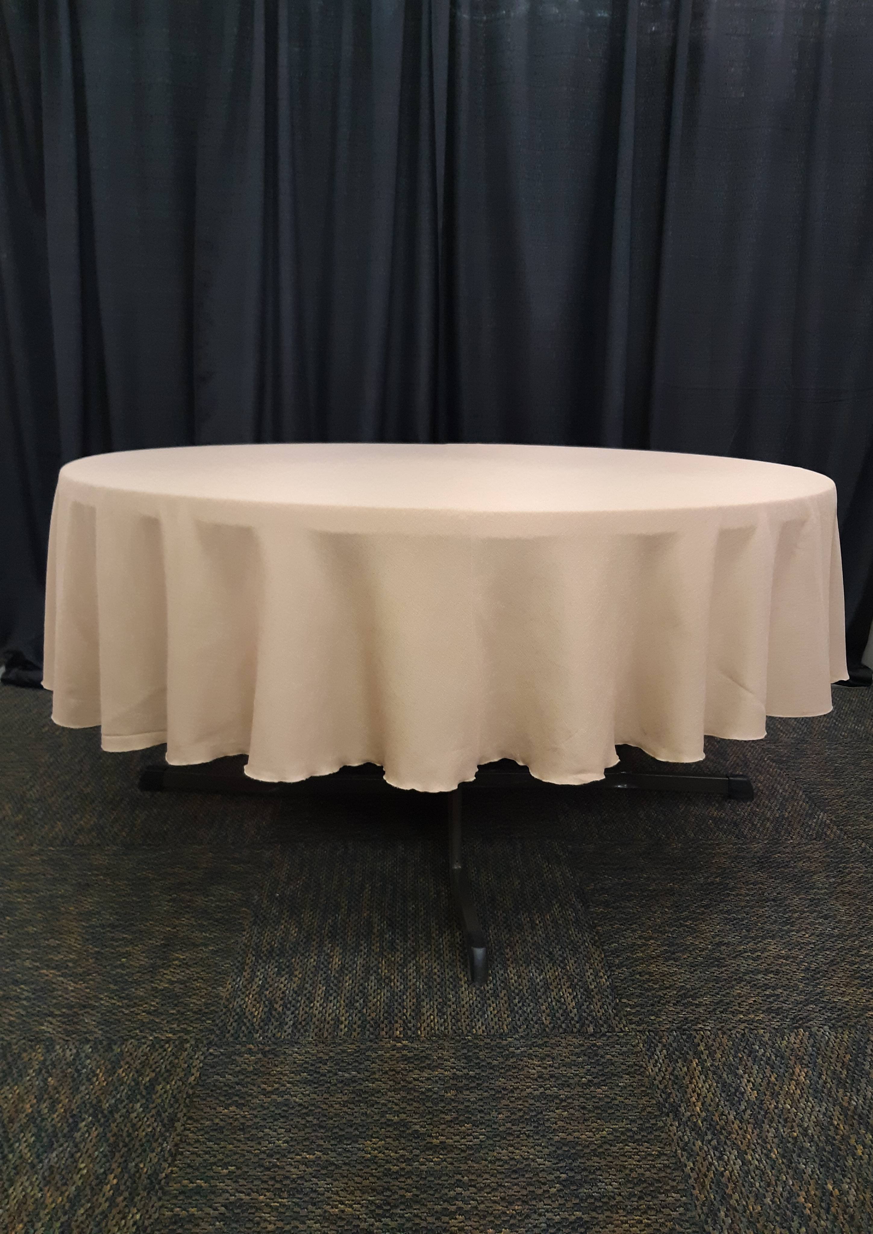 "90"" round tablecover"