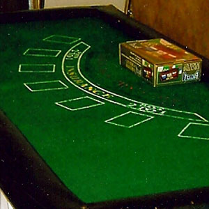 Black jack layout