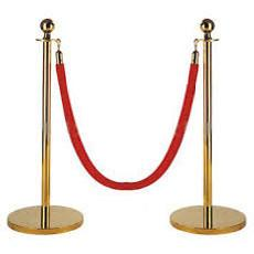 Stanchion brass