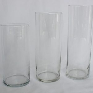 Cylinders glass (3 inch wide)
